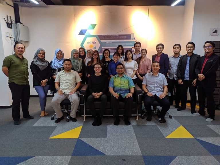 Photo of participants who took CIDB BIM Fundamental Modelling of Infrastructure (Roads & Highways)