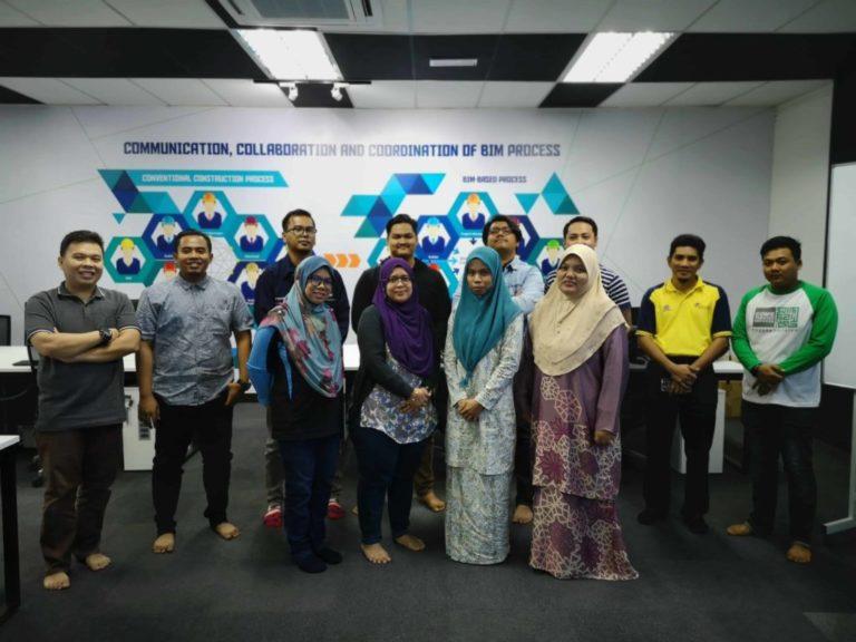 Photo of participants who took UTNM BIM Structure Training at ABM Selatan